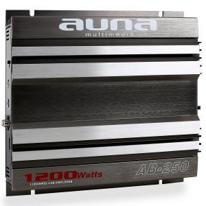 AB-250 Auto-Endstufe 2-Kanal-Verstärker brückbar 2 x 90W RMS, 1200W max. 2