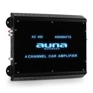 W2-AC400 4-Kanal Auto-Endstufe Car Verstärker 360W RMS 4000W max. Acryl 4_0