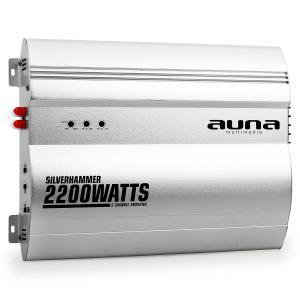 Silverhammer 2-Kanal Auto Endstufe 2200W 2