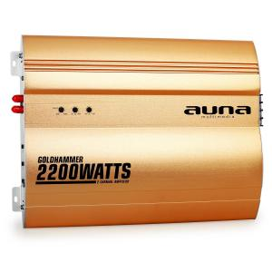 Goldhammer 2-Kanal Auto Endstufe 2200W 2