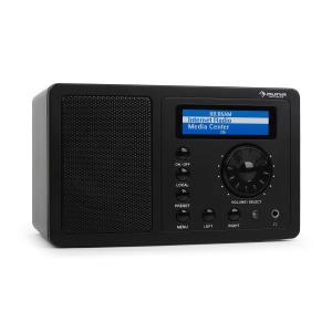 IR-130 Radio Internetradio W-LAN Streaming schwarz Schwarz