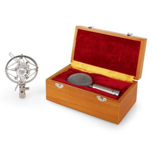 CRM15 Bändchenmikrofon silber Acht Studio XLR Profi Vintage