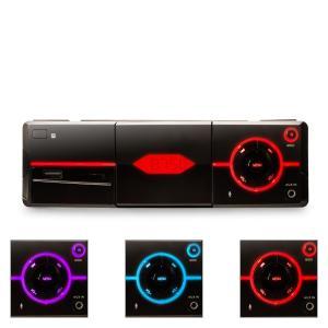 MD-640 Autoradio Bluetooth SD USB Smartphonehalterung - schwarz