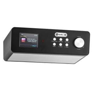 KR 200 Küchenradio Internetradio Spotify Connect WiFi DAB+ UKW RDS AUX Schwarz
