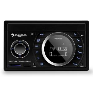 MD-210 BT RDS Autoradio Bluetooth USB SD MP3 2-DIN 4x75W