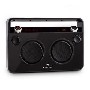 Bebop Ghettoblaster USB Bluetooth AUX MIC Akku schwarz