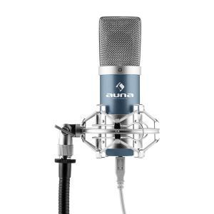 MIC-900BL USB Kondensator Mikrofon blau Niere Studio Blau