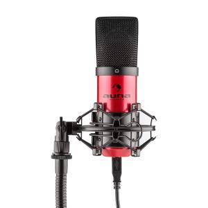 MIC-900-RD USB Kondensator Mikrofon rot Niere Studio Rot