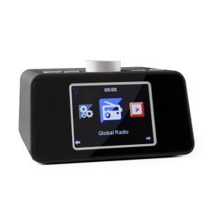 "i-snooze Internetradio Radiowecker WLAN USB 3,2"" TFT-Farbdisplay schwarz Schwarz"