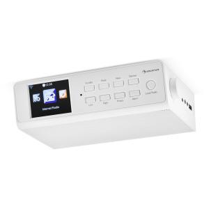 """KR-190 Internet Unterbauradio WiFi App-Steuerung 3,2"""" TFT-Display weiß Weiß"""