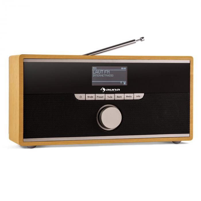 weimar dab radio internet radio bluetooth dab ukw wecker. Black Bedroom Furniture Sets. Home Design Ideas