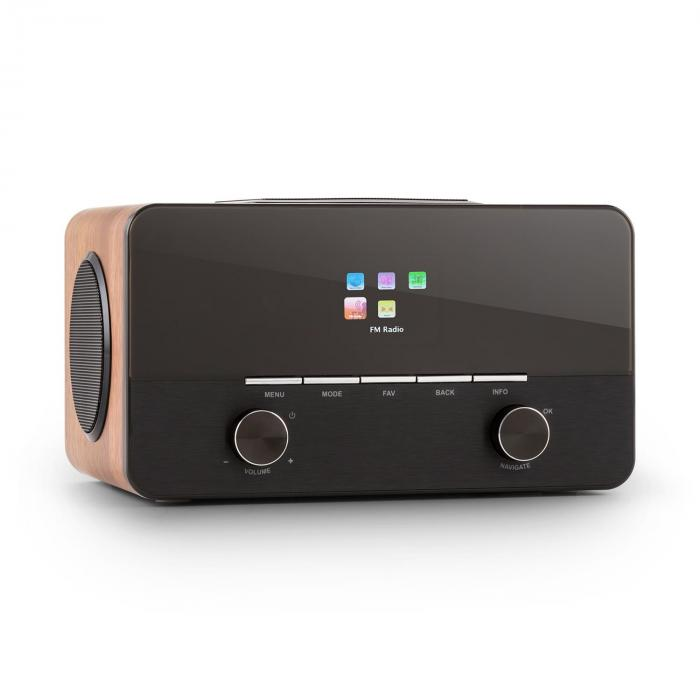 Connect 150 WD 2.1-Internetradio Mediaplayer Spotify Connect WLAN LAN USB D Walnuss
