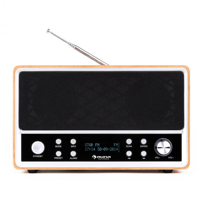 charleston dab digitalradio tragbar ukw rds wecker buche. Black Bedroom Furniture Sets. Home Design Ideas