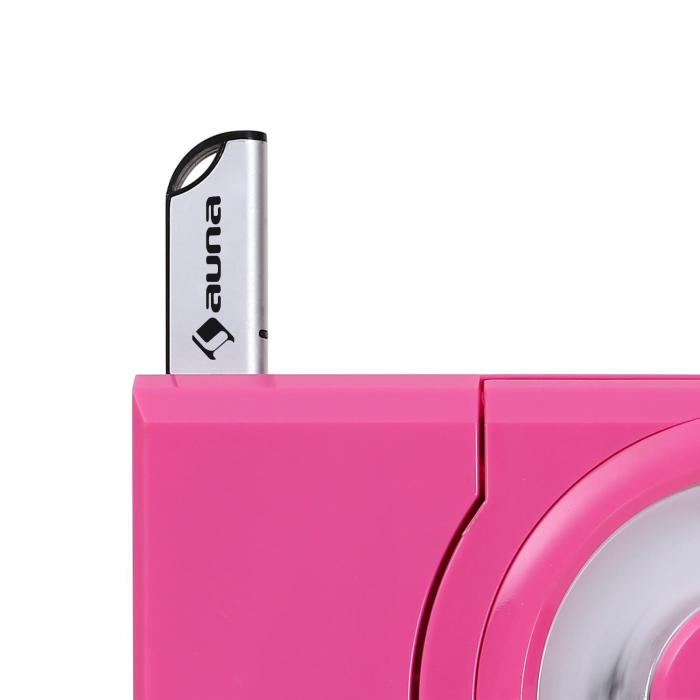 mc 120 microanlage vertikalanlage mp3 cd player usb aux wandmontage pink pink online kaufen. Black Bedroom Furniture Sets. Home Design Ideas