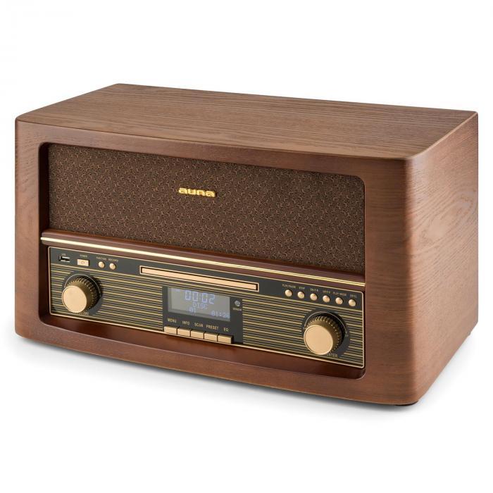 belle epoque 1906 dab retro stereoanlagen bluetooth cd usb. Black Bedroom Furniture Sets. Home Design Ideas